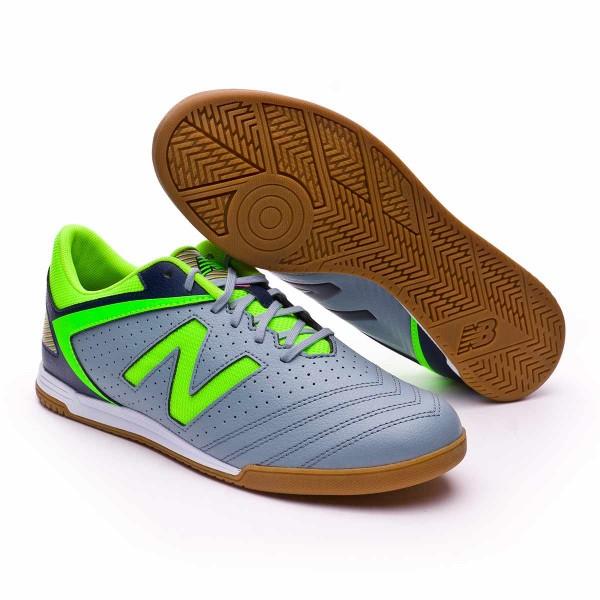b47594d1a99 Futsal Boot New Balance Audazo Strike 1.0 Futsal Grey-Green - Tienda de  fútbol Fútbol Emotion