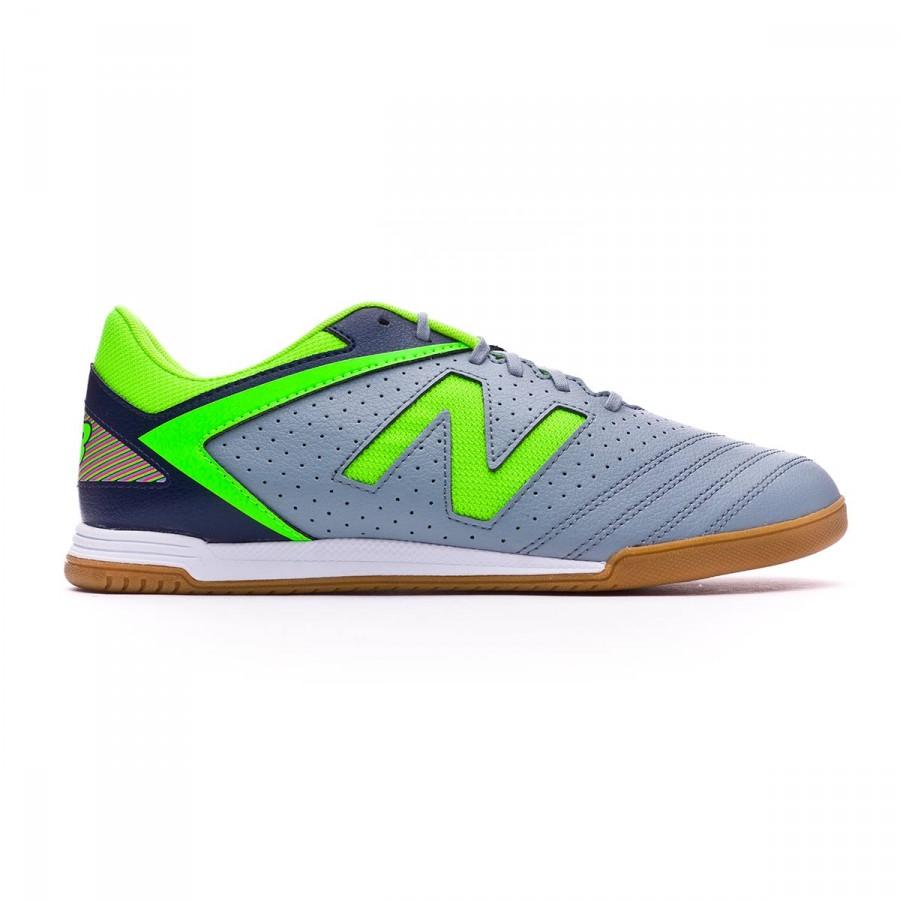 4b2e41476b1 Futsal Boot New Balance Audazo Strike 1.0 Futsal Grey-Green - Football  store Fútbol Emotion