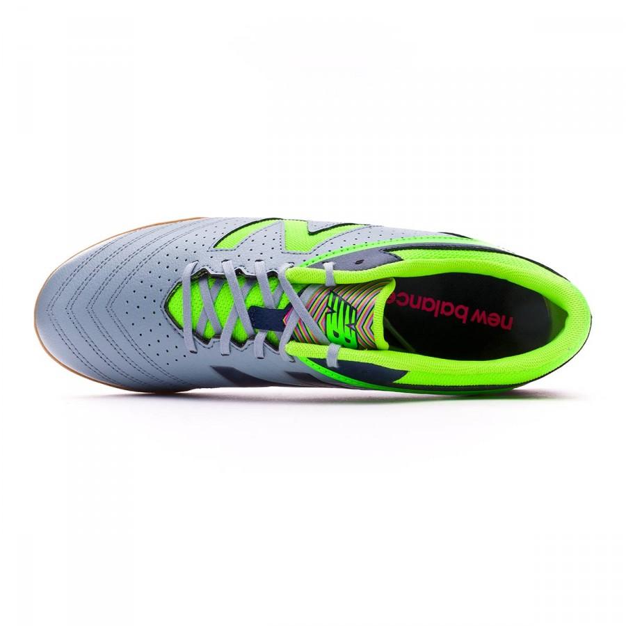 be3a7f3ec06 Futsal Boot New Balance Audazo Strike 1.0 Futsal Grey-Green - Football  store Fútbol Emotion