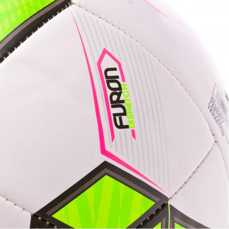 Bola de Futebol New Balance Dispatch White-Green - Loja de futebol ... 950e00d65dfda