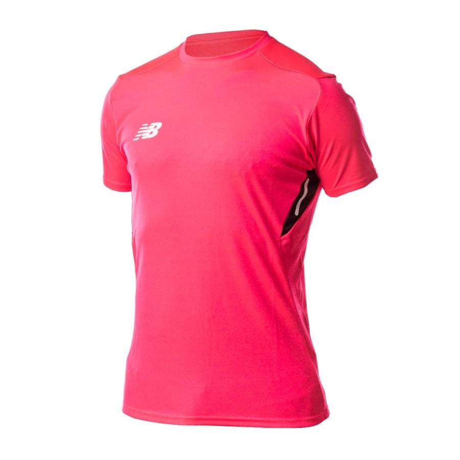 Jersey New Balance Elite Tech Fluorescent pink - Soloporteros es ... aa027b428