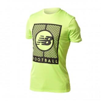 Camisola  New Balance Graphic Logo Elite Tech Verde fluor