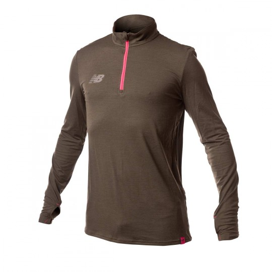 Sweatshirt  New Balance Elite Tech Brown