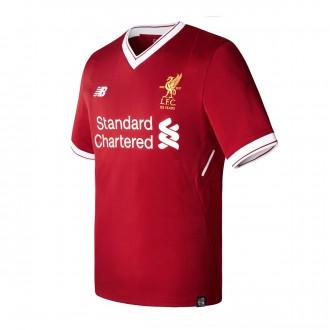 Camisola  New Balance Liverpool FC Principal 2017-2018 Red