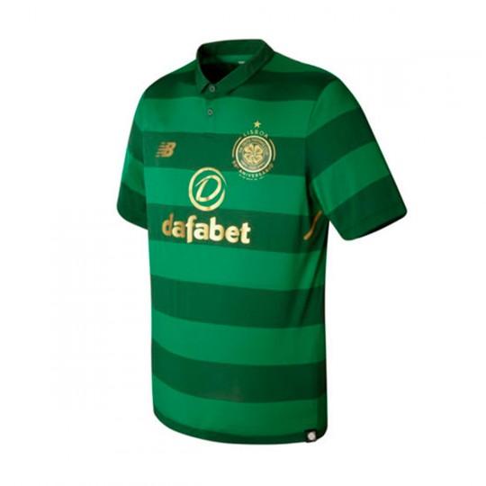 Camiseta  New Balance Celtic FC Segunda Equipación 2017-2018 Green