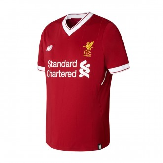 Camisola  New Balance Jr Liverpool FC Principal 2017-2018 Red