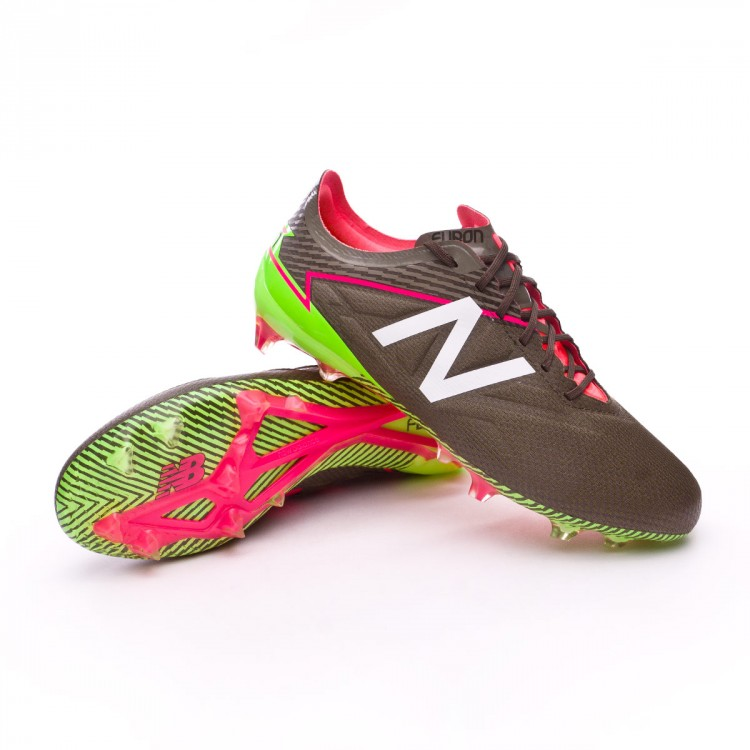 Boot New Balance Furon 3.0 Pro FG Military green-White - Leaked soccer f5393aaab