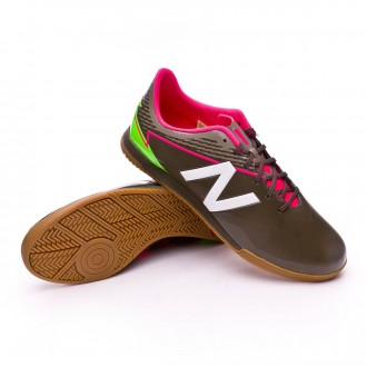 Sapatilha de Futsal  New Balance Furon 3.0 Dispatch Indoor Military green-White