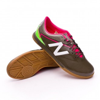 Sapatilha de Futsal  New Balance Jr Furon 3.0 Dispatch Indoor Military green-White