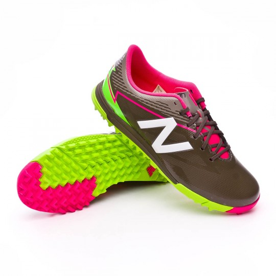 Zapatilla  New Balance Furon 3.0 Dispatch Turf Niño Military green-White