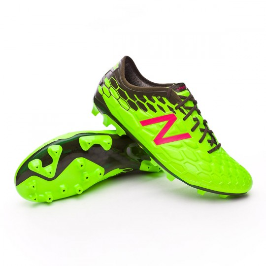 Bota  New Balance Visaro 2.0 Pro AG Green-Cherry
