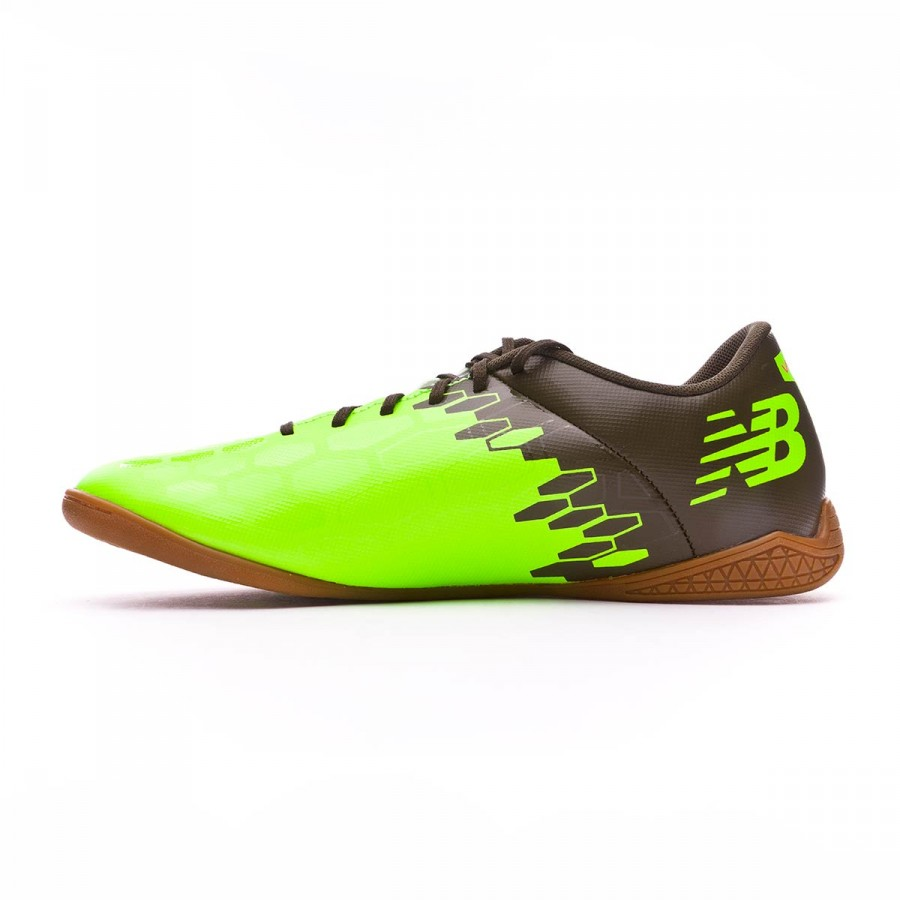487dd6d17 Futsal Boot New Balance Visaro 2.0 Control Indoor Green-Cherry - Football  store Fútbol Emotion