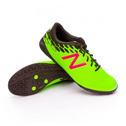 Zapatilla  New Balance Visaro 2.0 Control Turf Green-Cherry