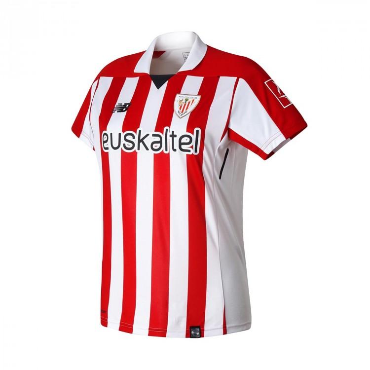 Camiseta New Balance AC Bilbao MC Primera Equipación Mujer 2017-2018 ... 9dd1d469b81ec