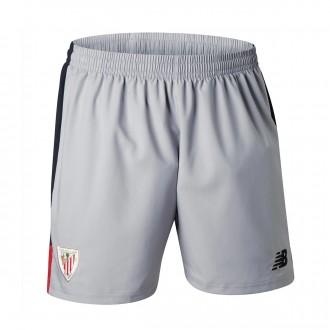 Pantalón corto  New Balance AC Bilbao Segunda Equipación 2017-2018 Gris