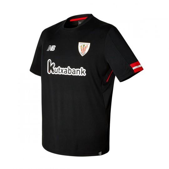 Camiseta  New Balance AC Bilbao MC Segunda Equipación 2017-2018 Niño Black
