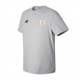Camiseta  New Balance AC Bilbao MC algodón 2017-2018 Grey