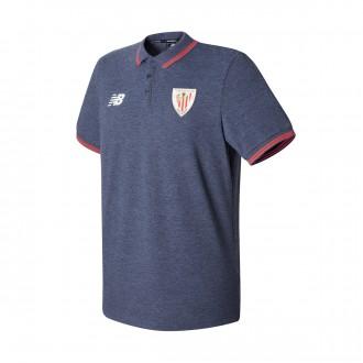 Pólo  New Balance AC Bilbao Piqué MC 2017-2018 Navy