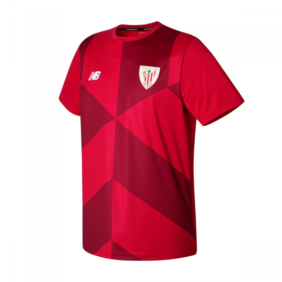 681c24cecd6ce Jersey New Balance Jr AC Bilbao Training 2017-2018 Red - Football ...