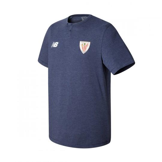 Camiseta  New Balance AC Bilbao MC algodón 2017-2018 Niño Navy