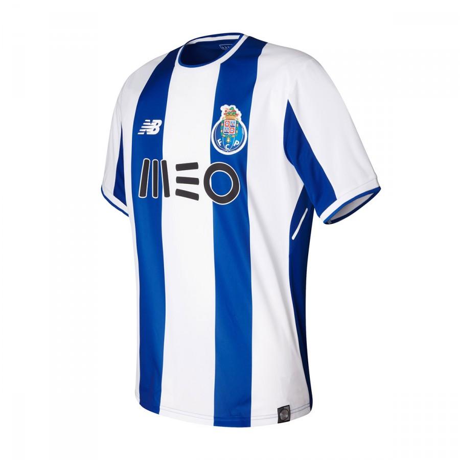 2094f1005ae Maillot New Balance FC Porto MC Domicile 2017-2018 Blue-White - Boutique de  football Fútbol Emotion