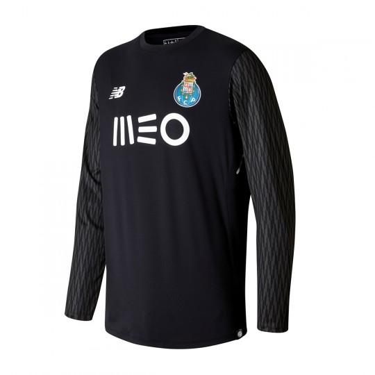 Camiseta  New Balance FC Porto ML Home Portero 2017-2018 Black