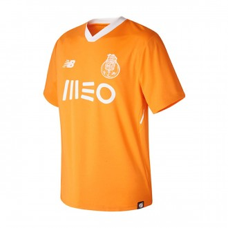 Camisola  New Balance FC Porto MC Alternativo 2017-2018 Orange