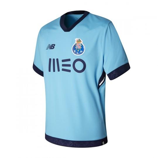 Camisola  New Balance FC Porto 3ª Equipamento 2017-2018 Ciano