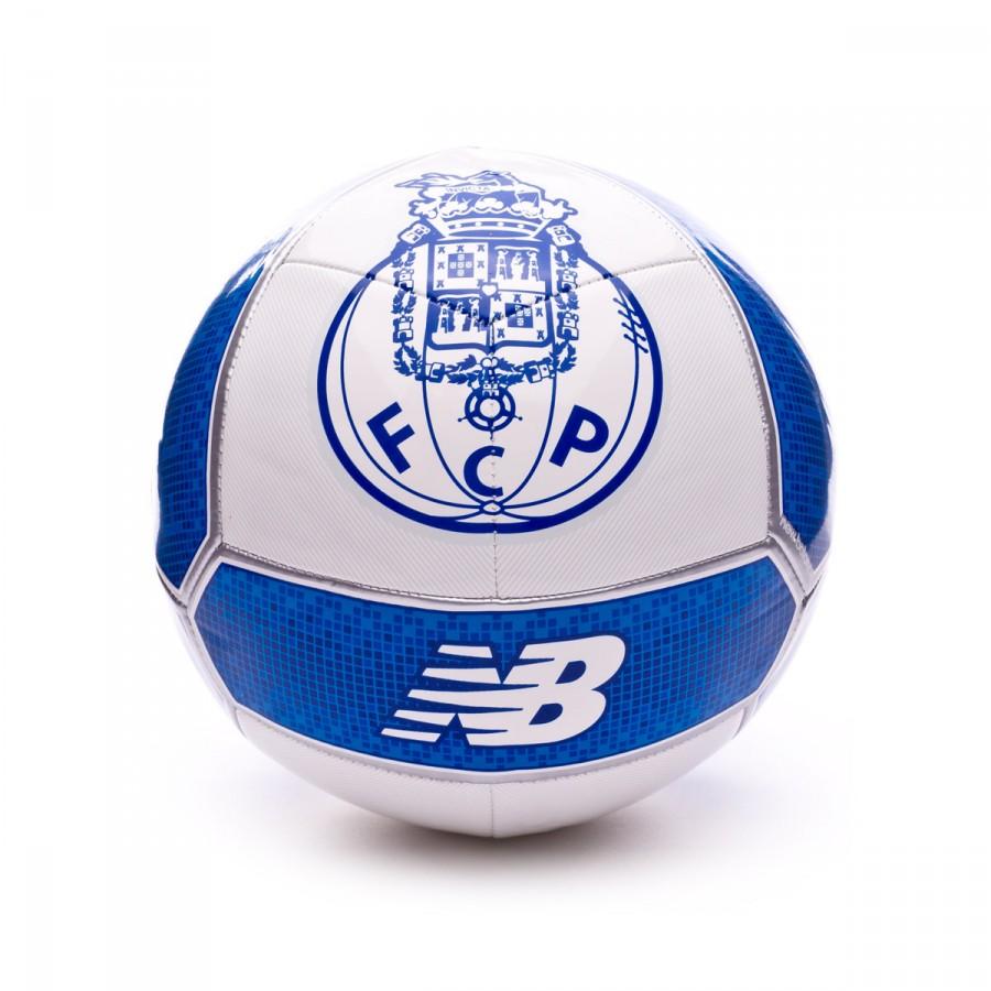 4d96b772935ba Bola de Futebol New Balance FC Porto Distpach 2017-2018 Branco-Azul - Loja  de futebol Fútbol Emotion