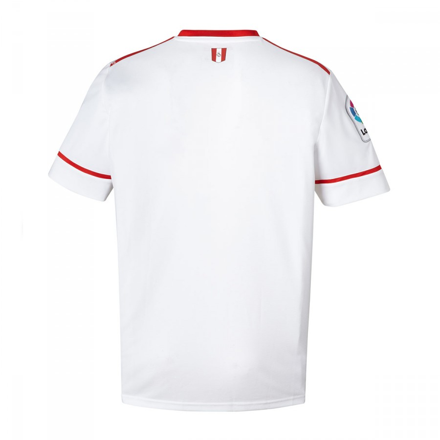 ... Camiseta Sevilla FC MC Primera Equipación 2017-2018 Blanco. Categorías  de la Camiseta d194b82716e87