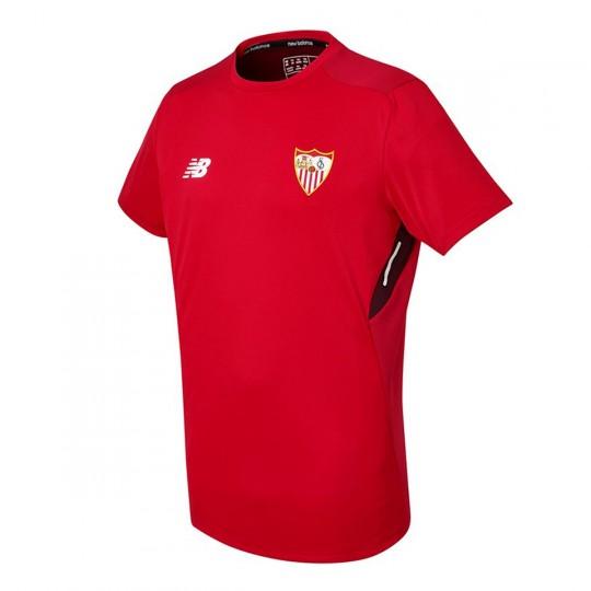 Camiseta  New Balance Sevilla FC MC Training 2017-2018 Rojo