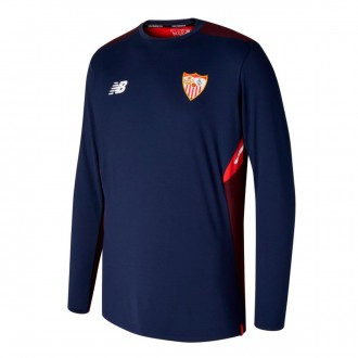 Sweatshirt  New Balance Sevilla FC Training 2017-2018 Navy