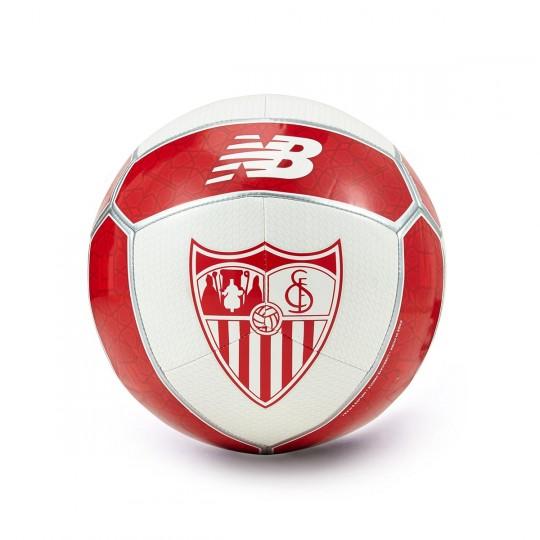 Balón  New Balance Sevilla FC Distpach 2017-2018 Blanco-Rojo
