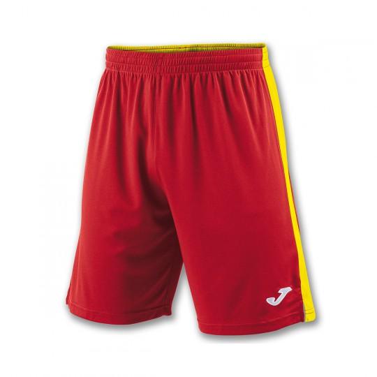 Pantalón corto  Joma Tokio II Rojo-Amarillo