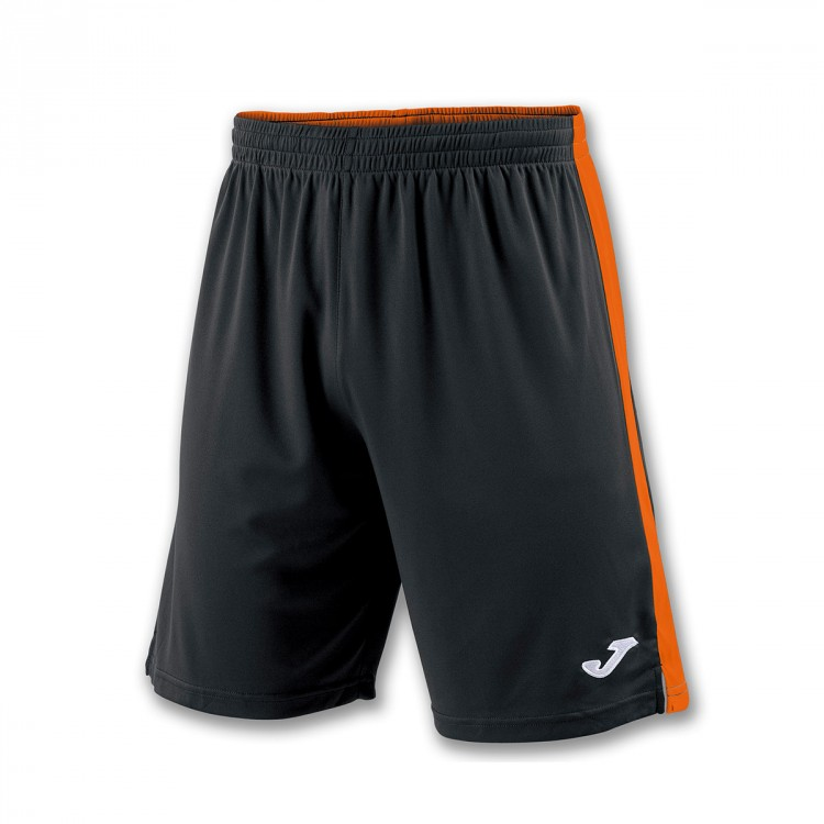 524facfee3 Pantalón corto Joma Tokio II Negro-Naranja - Tienda de fútbol Fútbol ...
