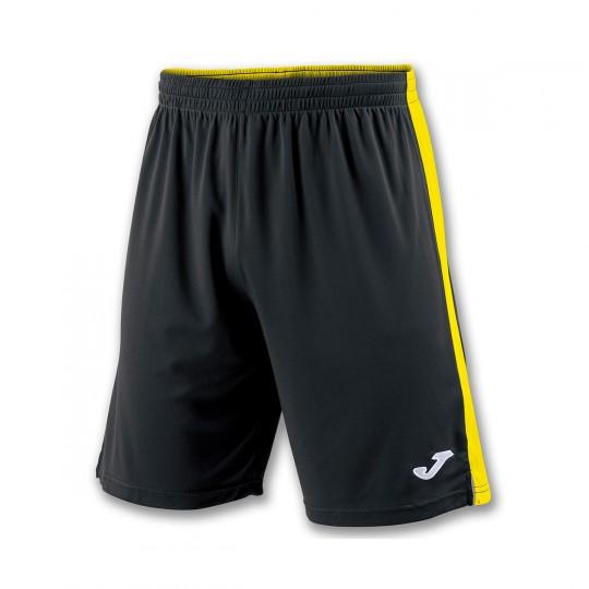 Pantalón corto  Joma Tokio II Negro-Amarillo