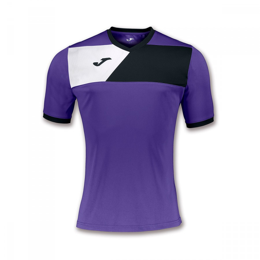 be72f7e95 Jersey Joma Crew II ss Purple-Black-White - Leaked soccer