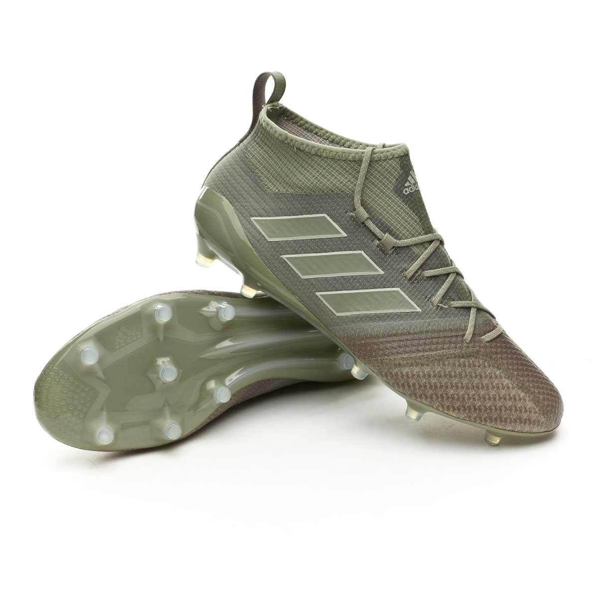 8127a44ebcd Football Boots adidas Ace 17.1 Primeknit FG Clay-Sesame - Tienda de ...