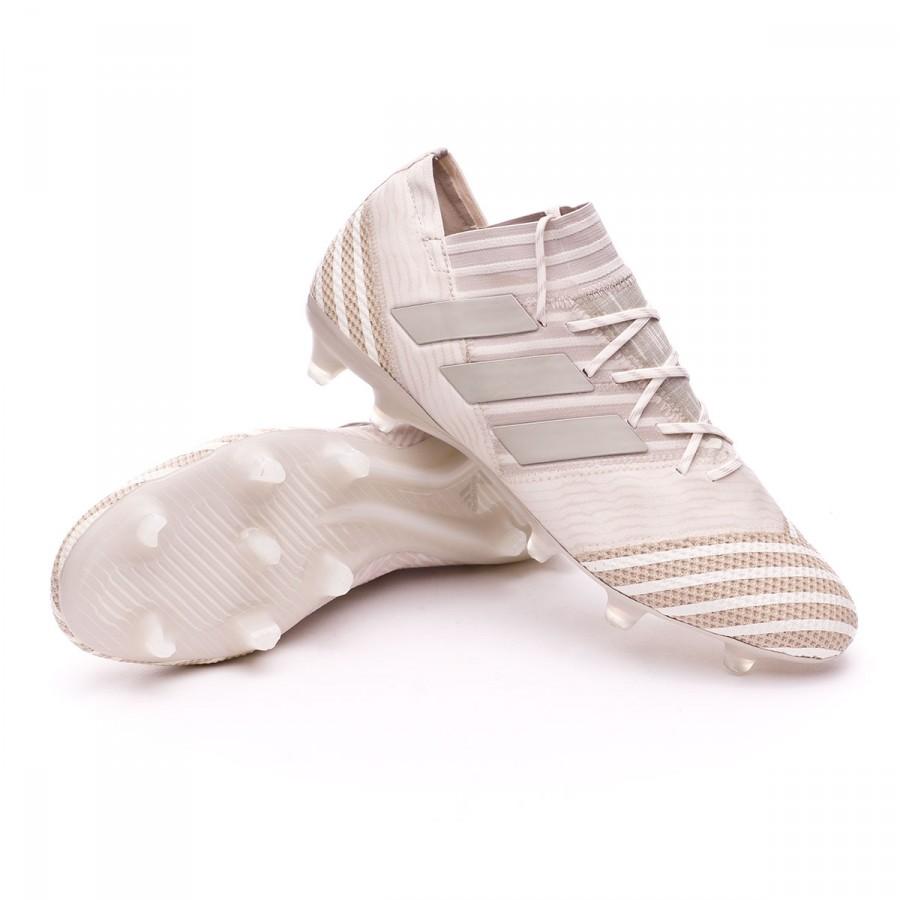 57da61211a84 Football Boots adidas Nemeziz 17.1 FG Clear Brown-Sesame-Chalk white ...