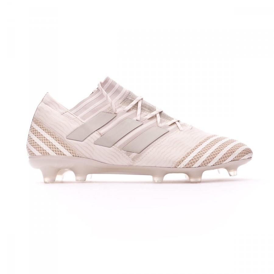 afc81c0d60a0 Football Boots adidas Nemeziz 17.1 FG Clear Brown-Sesame-Chalk white -  Football store Fútbol Emotion