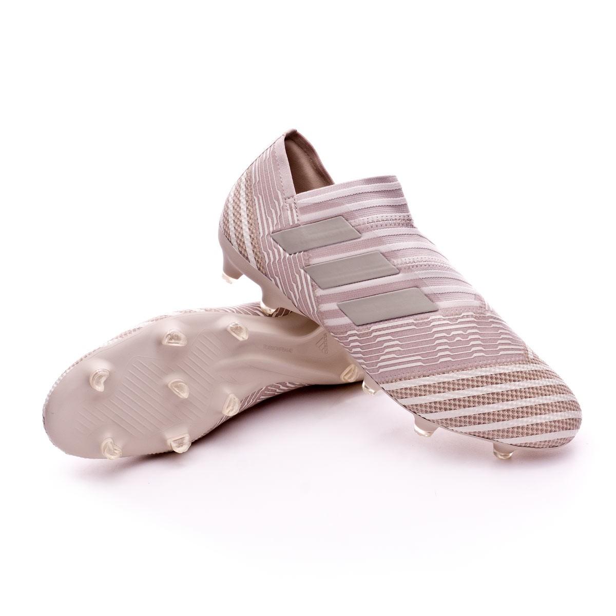 384068d6af8f adidas Nemeziz 17+ 360 Agility FG Football Boots. Clear Brown-Sesame-Chalk  ...