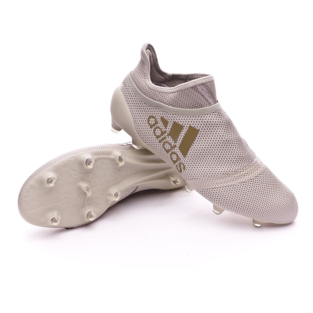 Chuteira adidas X 17+ Purespeed FG Sesame-Clay - Loja de futebol Fútbol  Emotion 9bdec2c2d0b82