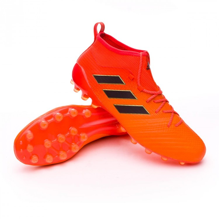 Bota Primeknit Ag Ace 17 1 Core Solar Red Black Orange DE9HIYeW2