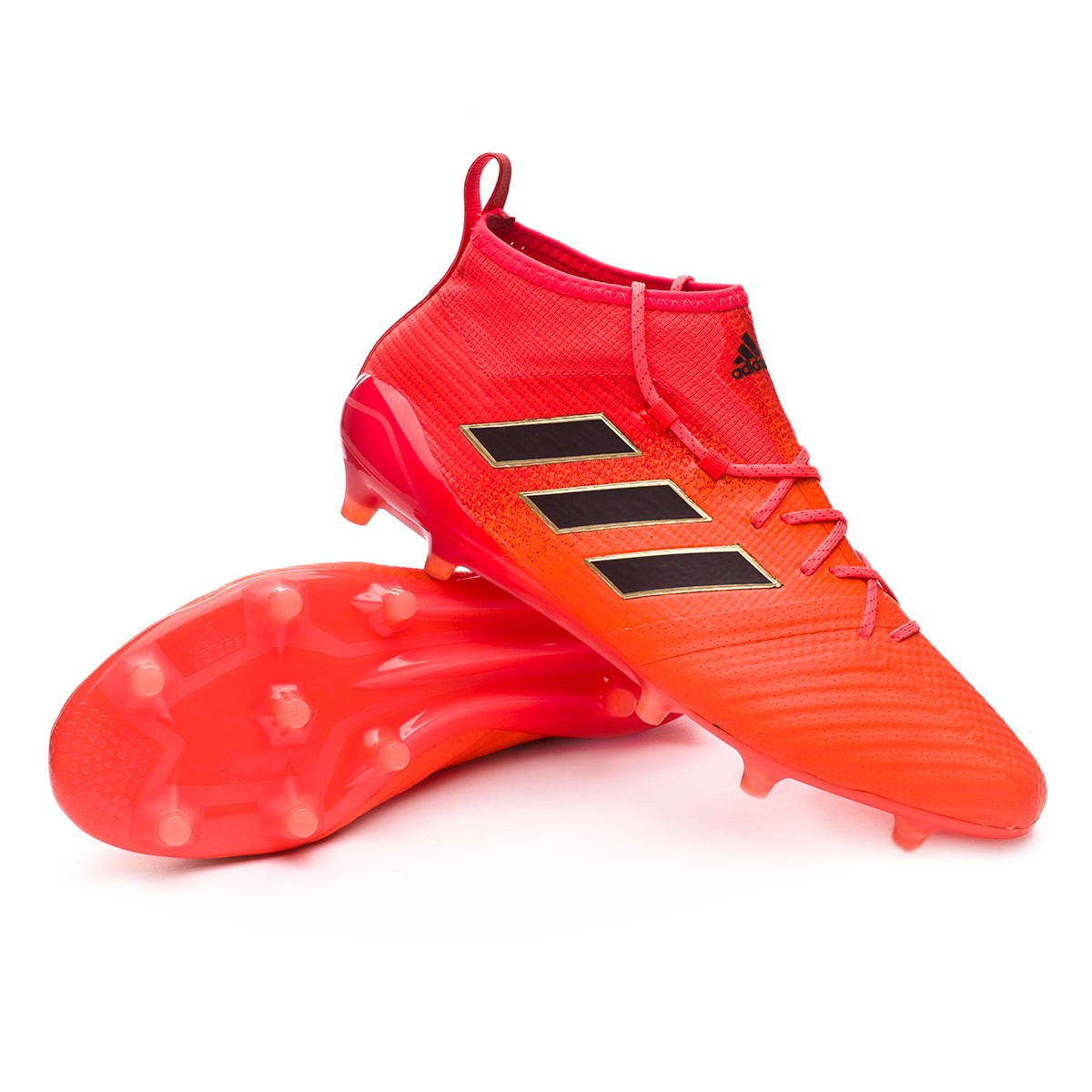 Boot adidas Ace 17.1 Primeknit FG Solar orange-Core black-Solar red ... b53dd0919c51
