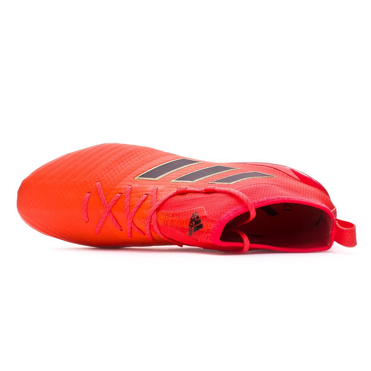 c6d76595775f Football Boots adidas Ace 17.1 Primeknit FG Solar orange-Core black-Solar  red - Football store Fútbol Emotion