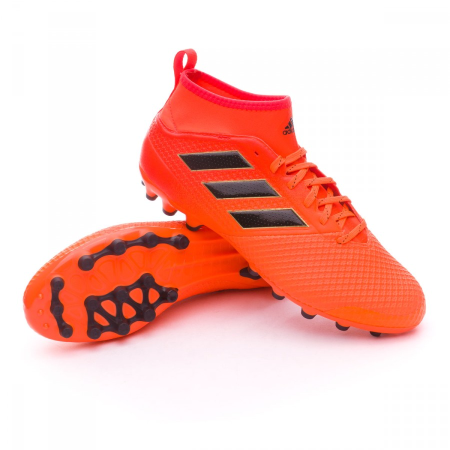 Boot adidas Ace 17.3 AG Solar orange-Core black-Solar red - Football ... d1e11104a