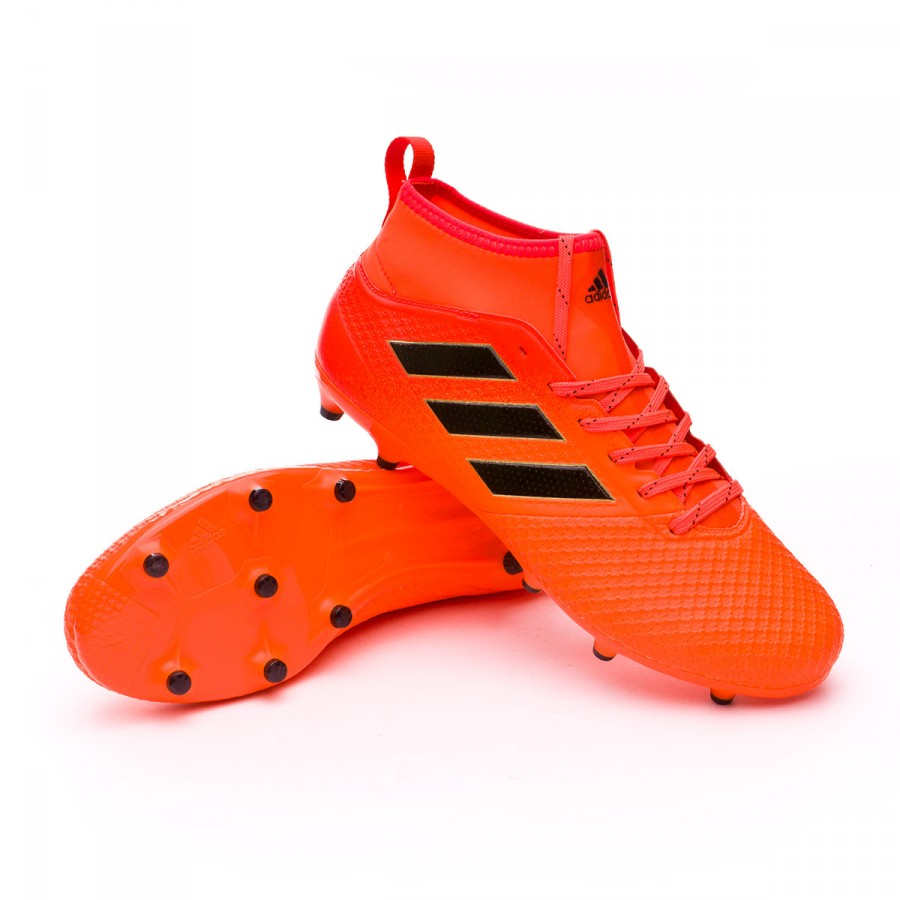 5aa7756def3a Football Boots adidas Ace 17.3 FG Solar orange-Core black-Solar red ...