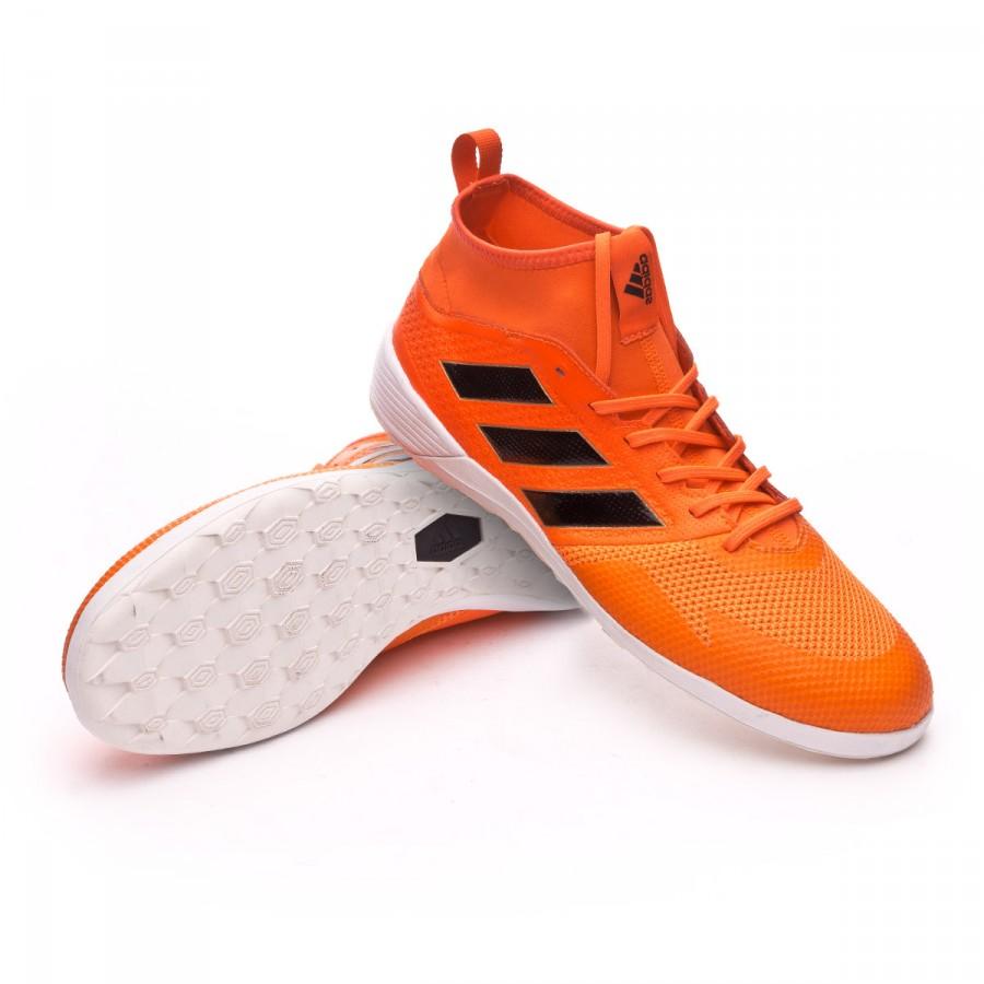dd51eaa068 Sapatilha de Futsal adidas Ace 17.3 IN Solar red-Core black-Solar orange -  Loja de futebol Fútbol Emotion