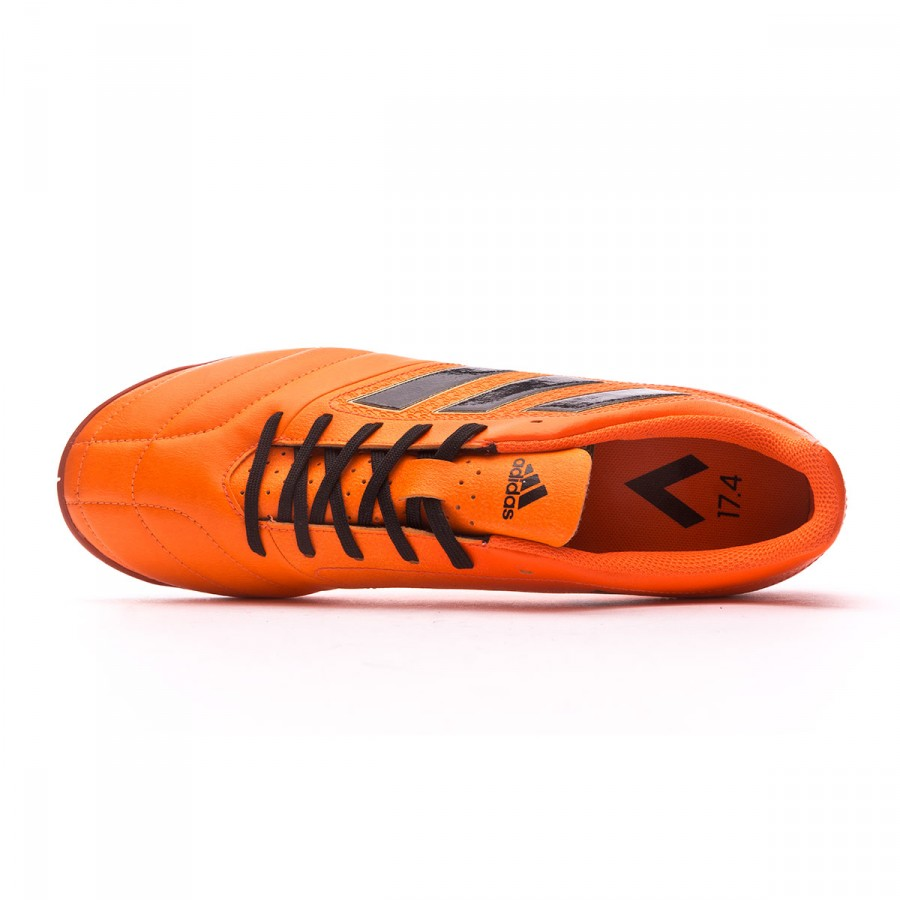 8a27f9177b1 Futsal Boot adidas Ace 17.4 IN Solar orange-Core black-Solar red - Football  store Fútbol Emotion
