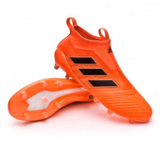 Chaussure  adidas Ace 17+ Purecontrol FG Solar orange-Core black-Solar red